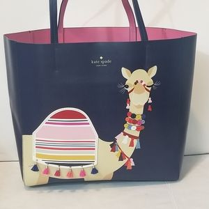 Kate Spade Spice Things Up Camel Luvvie XL Tote
